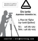 Eric Lortie Arpenteur-Géomètre Inc.